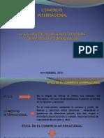 Eticaenelcomerciointernacional 101109152727 Phpapp02 (1)