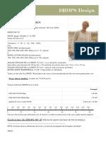"""Johanna - Casaco DROPS Em """"Paris"""" e """"Cotton Viscose"""". Do S Ao XXXL. - Free Pattern by DROPS Design"""
