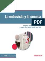 Entrevistas y Cr Nicas Talleres 8 y 91315013100913