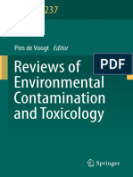 W.P. de Voogt Eds. Reviews of Environmental Contamination and Toxicology Volume 237