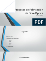 Procesos de Fabricación de Fibra Óptica