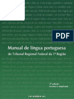 Manual de Lingua Portuguesa Do TRF Da 1a. Região