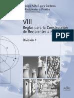 Reglas Para La Construcción-De Recipientes a Presión-Asme Secc- VIII