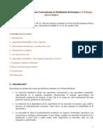La Crisis de La Agricultura Convencional - Peter M Rosset