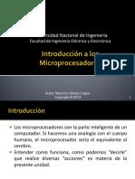 01 Introduccion a Los Microprocesadores A