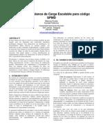 Medición de Balance de Carga Escalable para SPMD