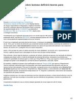 Foodsafetybrazil.org-Consulta Pública Sobre Lactose Definirá Teores Para Lactose e Galactose
