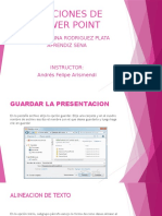 Funciones de Power Point