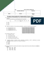 3º Matematica Intermedia Junio