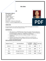 Resume Mondita Borah 2