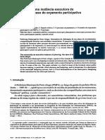 Orçamento Participativo - JAMES GIACOMONI
