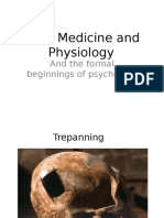 Medicine and Physiology(1)