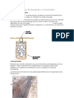 Cadenas de Desplante y Contratrabes
