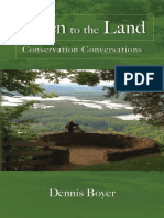 Listen to the Land Conservation Conversations