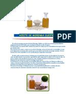 Aceite de Moringa Oleifera