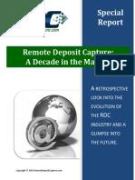 Remote Deposit Capture - 2014_special_report