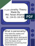 A Personality Theory