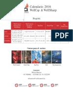 Calendario IADC 2016-2