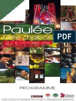 Programme Paulee 2016