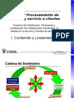 I. Contendio y Lineamientos