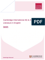 151729 Cambridge Learner Guide for as and a Level Literature in English