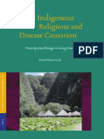 African Indigenous Religions and Disease Causation - From Spiritual Beings to Living Humans