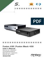 Fusion 430 & Fusion Black 430 en Manual