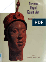 African Royal Court Art