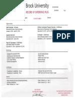 sample public health expplus transcript