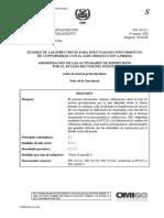 FSI 16-11-1 - Lista de nuevas prescripciones (Secretar+¡a)