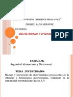 Diapositivas de Seminario 5to Secre
