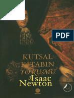 Aytunç Altındal - Kutsal Kitabın Yorumu - Sir Isaac Newton