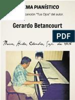 POEMA PIANISTICO. Por Gerardo Betancourt.