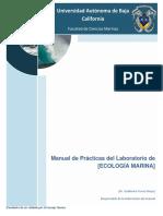 Manual de Laboratorio de Ecologia Marina