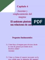 Capitulo 4 - Plutonismo