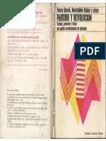 Broué, Pierre; Rubel, Maximilien y Otros - Partido y Revolución, Ed. Rodolfo Alonso, 1971