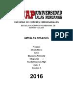 Contaminacion Por Los Metales Pesados