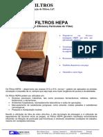 Dados Tecnicos - Filtros HEPA.pdf