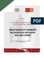 Efetividade e desafios educaçao inclusiva em Cabo Verde