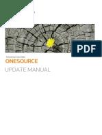 Manual de atualização Onesource