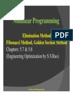 Elimination method