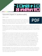 Gaycionario Argento P (by Mhoris EMm)