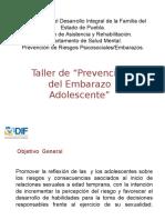 Taller Prevención Del Embarazo
