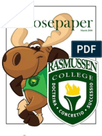 Rasmussen College - The Moose Paper March 2010