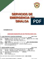 Servicios de Emergencia Sinaloa