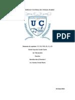 Resumen de Capitulos VI, VII, VIII, IX, X y XI