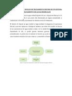 Definición de Los Niveles de Tratamiento Dentro de Un Sistema de Tratamiento de Aguas Residuales