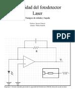 Capacidad Del Fotodetector-Laser