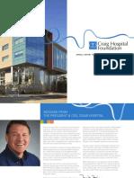 2015 Craig Hospital Foundation Annual Report Reduced