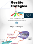. Fernanda Lima - Gestão Estratégica - 2016.2 Alunos
